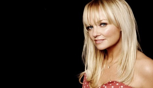 emma bunton new black
