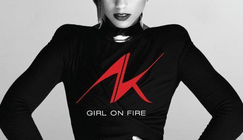 Alicia Keys – Girl On Fire 2012 front