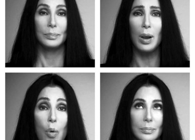 cher four black white 2012