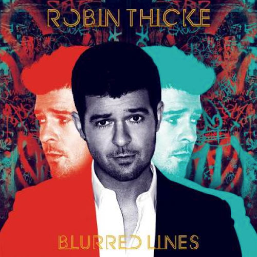 robin thicke blurred
