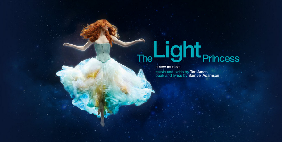 TORI AMOS LIGHT PRINCESS SHOW POSTER