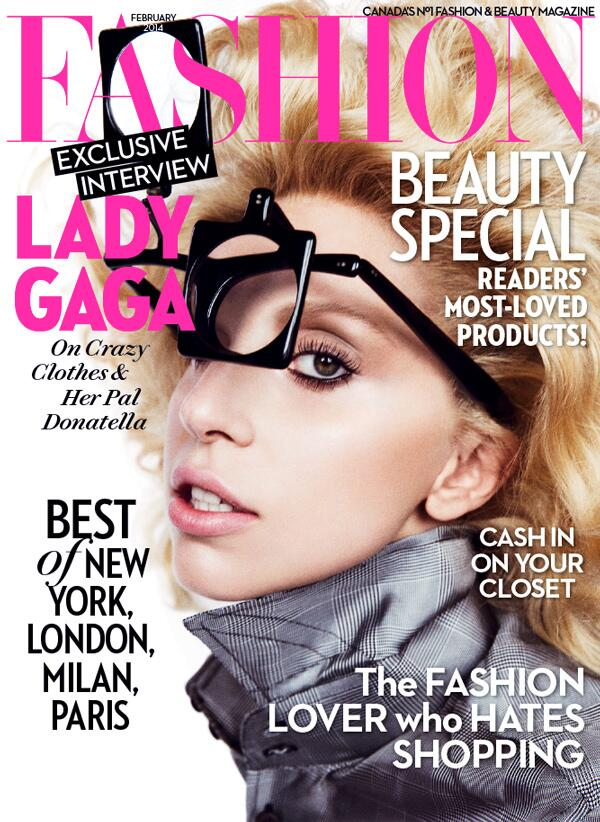lady gaga fashion mag
