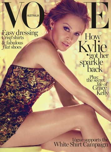 kylie minogue vogue 2014