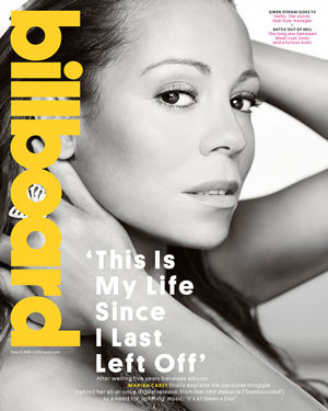 mariah carey cover billboard 2014