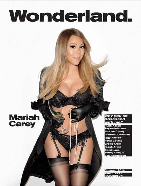 mariah carey cover naked magazine