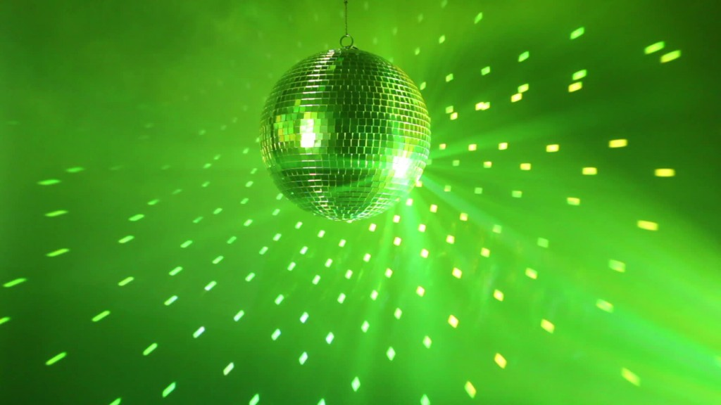 green disco ball bonanza
